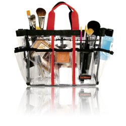 Make-up Tool Bag Small (Clear Plastic) TM-3-3