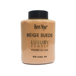 BEN NYE Beige Suede Luxury Powder