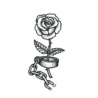 Tattooed Now! Prison Rose