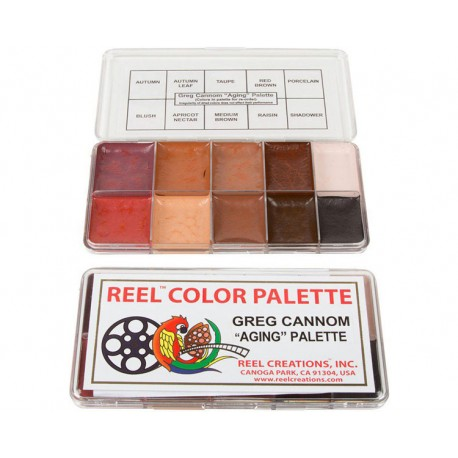 "REEL Creations - Greg Cannom ""Aging"" Palette"