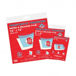 Prosthetic Transfer Paper & Release Film 10 Pack